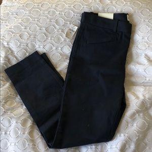 Gap navy blue skinny ankle mid rise pants